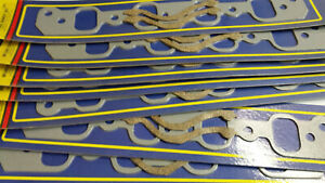 Lot Of 8 Intake Gaskets Ford 351 Cleveland 2bbl Heads