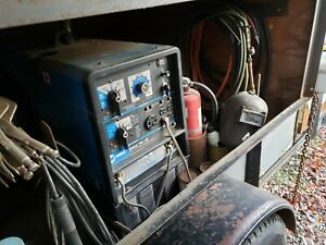 Miller Bobcat 250 Welder 10 000 Watt Generator Trailer And Contents