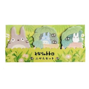 My Neighbor Totoro Sticky Notes Note Pad Post It Set Of 3 Usa Shipping