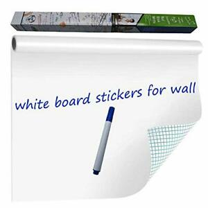 wishave Large Dry Erase Whiteboard Sticker Wall Decal self adhesive White Board