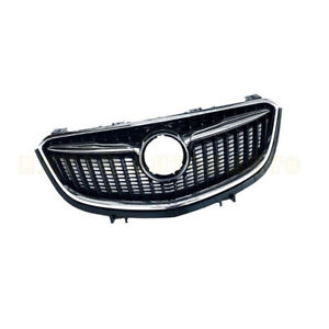 New Fit For 2019 2020 Buick Envision Front Bumper Upper Grill Grille Chrome