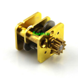 Micro Full Metal Gearbox Mini Reduction Copper Head Diy 050 Gear Motor Robot Car