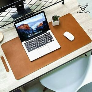Extended Leather Gaming Mouse Pad Mat Large Office Writing Desk Computer Thin