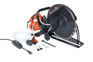 Circular Concrete Cut Off Saw Electric Cutter Wet Dry Masonry Paver Cut Saw 14in