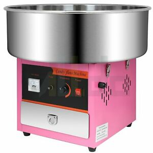 Electric Cotton Candy Machine Commercial Marshmellow Carnival Sugar Floss Maker