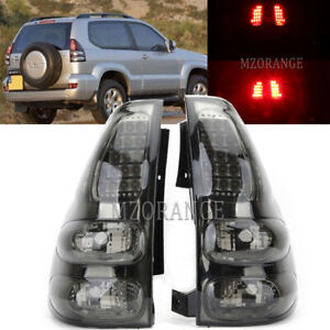 Smoked Led Rear Tail Lights For Toyota Land Cruiser Fj120 Lc120 Prado 2003 2009