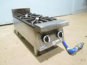 garland Gtog12 2 H d Commercial nsf Natural gas 2 Burners Counter top Stove