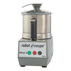 Robot Coupe Blixer2 2 5 Quart Commercial Food Blender Mixer W Blade Assembly