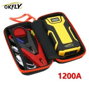 1200a Car Jump Starter 12v Portable Starting Cables Power Bank Battery Charger