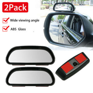 Blind Spot Mirror 2pcs Universal Wide Angle Rear View Car Adjustable Side Mirror