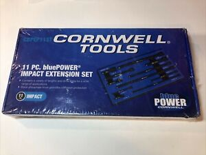 Cornwell Tools Cbpep11st 11pc Blue Power Impact Extension Set