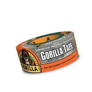Gorilla Silver Duct Tape 1 88 X 12 Yd Silver 1 Roll