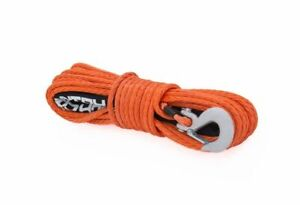 Rough Country 85 3 8 Synthetic Winch Rope Orange Rs111