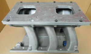 Edelbrock Victor 90 Buick Stage Ll V6 Tunnel Ram Intake Dual 4150 On Center