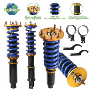 Full Coilover Shock Absorber Struts Kit For 2008 2012 Honda Accord Acura Tsx