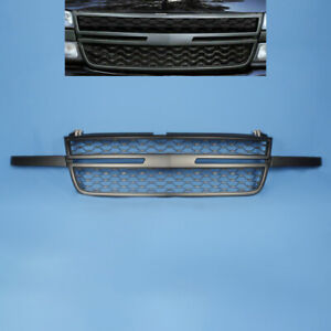 Fit For 2005 2007 Chevy Silverado 1500 2500hd 3500 Front Bumper Grille Black