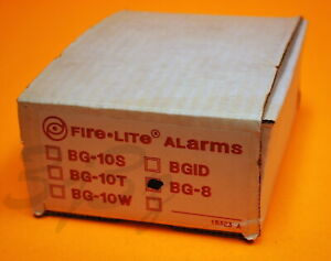 Fire lite Bg 8 Fire Alarm Pull Station