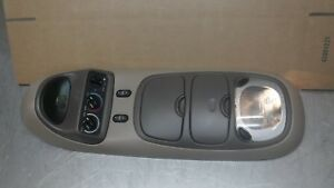 Ford Excursion Overhead Top Roof Console Map Light Display Brown Tan