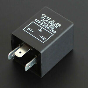 Adjustable 3 Pin Led Electronic Flasher Relay 3 Pin Led Automotive Flash Relay