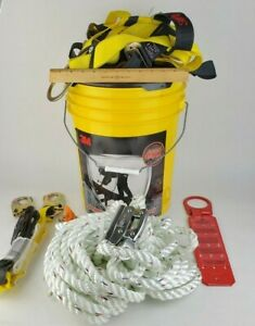 3m 50 Safety System Kit Bucket Fall Protection 20058 Werner Roofing Steep