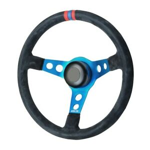 Gt Performance 52 4306 Pro touring Suede Drift Steering Wheel