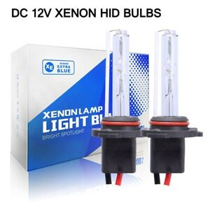 Two 55w Xenon Hid Bulbs Replacement Light Bulb H1 H4 H7 H10 H11 9005 9006 H3 H13