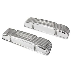 Offenhauser S b Chevy Valve Covers 55 59 Staggered No Oil Fill Hole