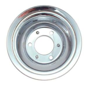 Spectre 4508 Chrome Crankshaft Pulley Chevy Gmc 396 454