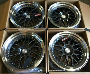 Esr Sr05 Wheels 19x8 5 5x120 30 Gun Metal 19 Rims Fits Bmw 325 328 Z4 Set 4
