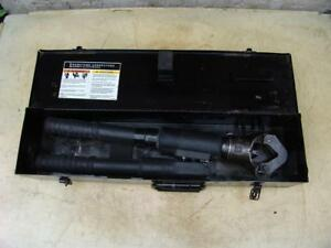 Burndy Y644h Dieless Hydraulic Crimper This Unit Is In Great Condition 3