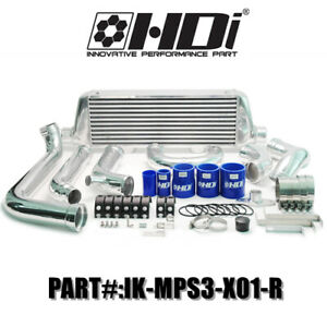 Hdi Hybrid Fmic Pro Intercooler Kit Mount For Mazda Mps3 Speed3