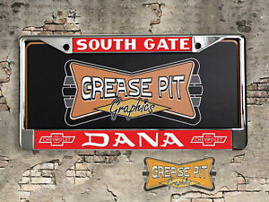 Dana Chevrolet License Plate Frame Chevy Performance Dealer