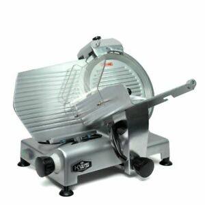Kws Ms 12ns 420w Electric Meat Slicer Silver