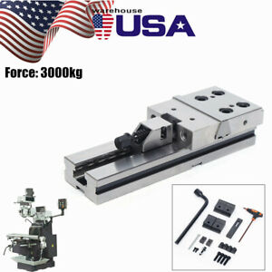 4inch Cnc Bench Vise Milling Drilling Machine Precision Clamp Vice 3000kg Force