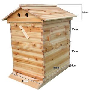Beekeeping Deluxe Bee Hive Wooden House Beehive Boxe Beehive Frame Box