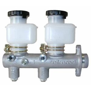 Wilwood 260 8794 Tandem Master Cylinder With Fixed Reservoirs 1 In Bore