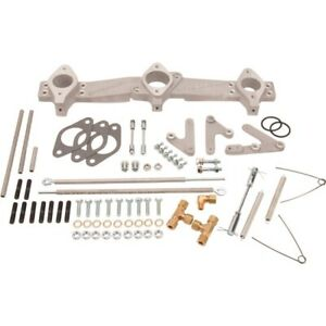 Offenhauser 5970 1970 Up Ford 170 200 250 Inline 6 Cyl Triple Manifold