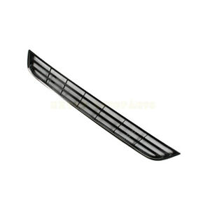 Fit For 2013 2016 Ford Fiesta Front Bumper Lower Grill Grille Chrome 1 6l New