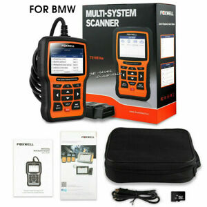 Foxwell Nt510 Elite For Bmw All System Abs Srs Tpms Obd2 Diagnostic Scanner