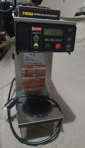 Bunn Commercial Coffee Maker one Brewer One Warmer 2 Pots And Metal Basket Incl