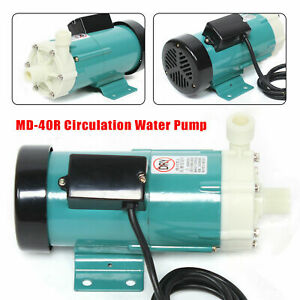 Md Micro Magnetic Drive Circulation Water Pump Industrial Chemical Water Pump