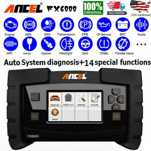 Ancel Fx6000 Ecu Programming All System Obd2 Scanner Abs Tpms Immo Dpf Esp Oil