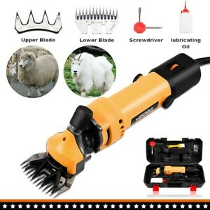6 Speed Electric Supplies Sheep Goat Shears Animal Shearing Grooming Clipper Ch