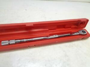 Used Proto Professional J6018ab 3 4 Inch Drive Torque Wrench 32 60 300lb Sr