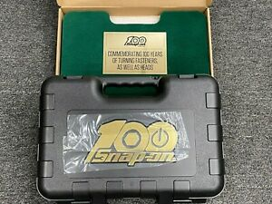 Snap On Tools Usa Rare Gold 3 8 Drive 100th Anniversary Set 51 Piece W Insert