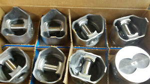 390 Ford Forged Pistons L2291f 030 Over Set Of 8