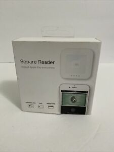 Square A sku 0115 03 Contactless Credit Card And Chip Reader White