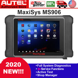 Autel Maxisys Ms906 Pro All System Diagnostic Service Scanner Tool Active Test