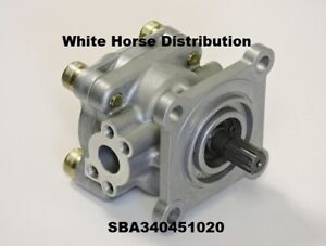 Power Steering Pump New For Case Ih Farmall 55a