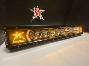 Rigid Industries 20 Radiance Amber Backlight 22004 Light Bar